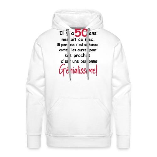 T-SHIRT HUMOUR/MOTIF HUMOUR/HUMOUR ANNIVERSAIRE - Sweat-shirt à capuche Premium pour hommes