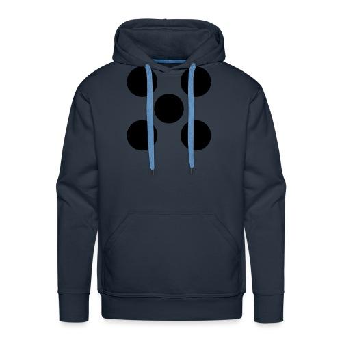 Dado - Sudadera con capucha premium para hombre