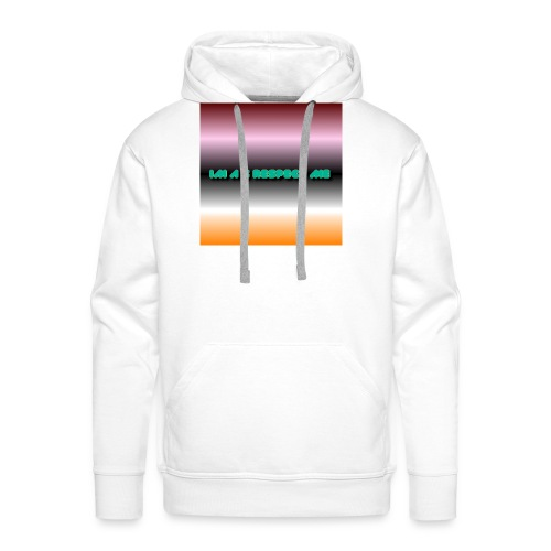 IM A G RESPECT ME MERCH - Men's Premium Hoodie