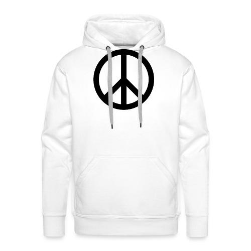 Peace Teken - Mannen Premium hoodie