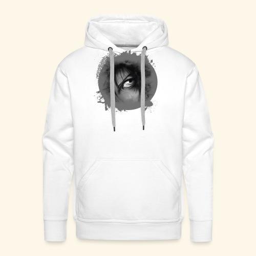 Regard sur le monde - Sweat-shirt à capuche Premium pour hommes