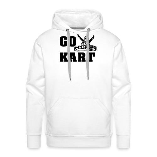 Go kart - Sweat-shirt à capuche Premium pour hommes