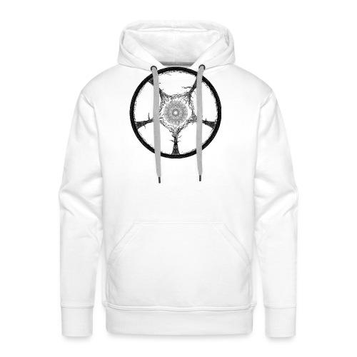 Earth of Tree - Sweat-shirt à capuche Premium pour hommes
