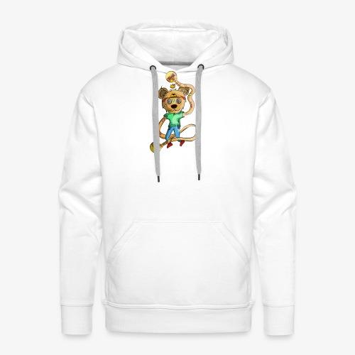 OSO HIPPIE - Sudadera con capucha premium para hombre
