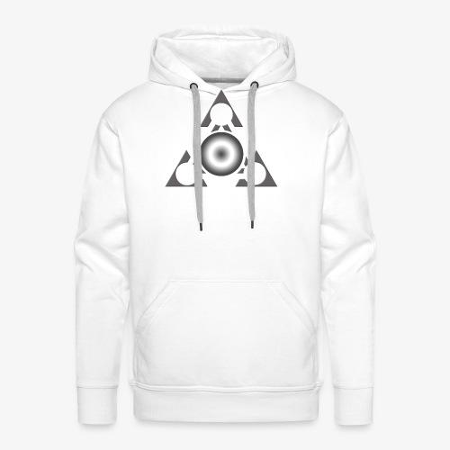 space 1 - Sweat-shirt à capuche Premium pour hommes
