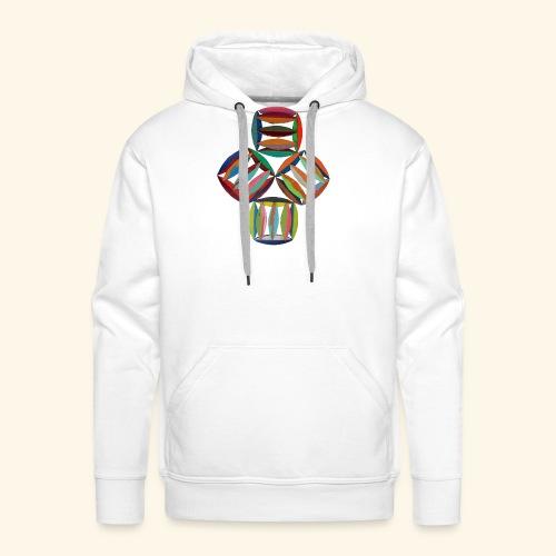 square2square - Mannen Premium hoodie