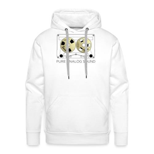 Reel gold cassette white - Men's Premium Hoodie