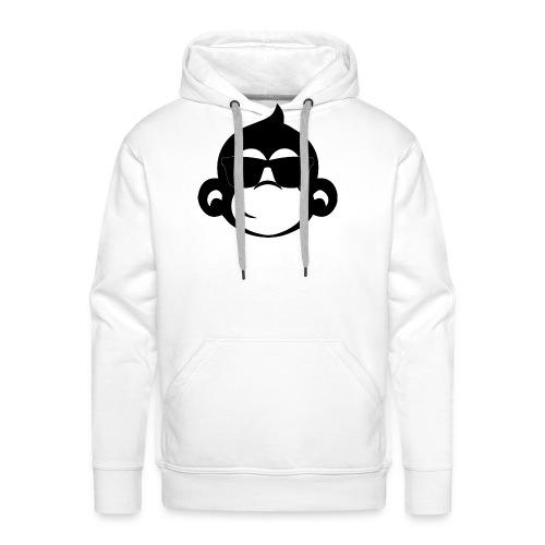 Singe cool - Sweat-shirt à capuche Premium pour hommes