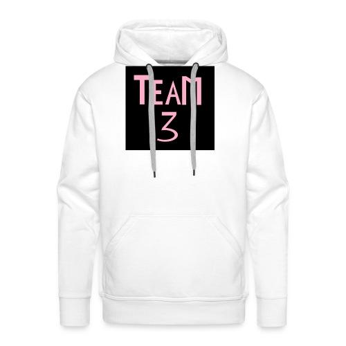 Team 3 - Premium hettegenser for menn