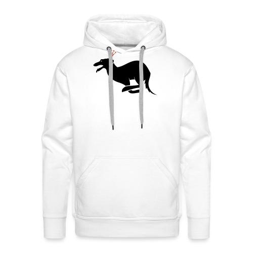 Perro cool - Sudadera con capucha premium para hombre