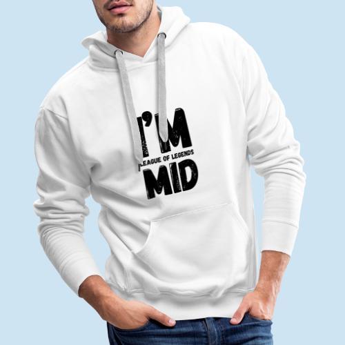 I'm Mid main - Premium hettegenser for menn
