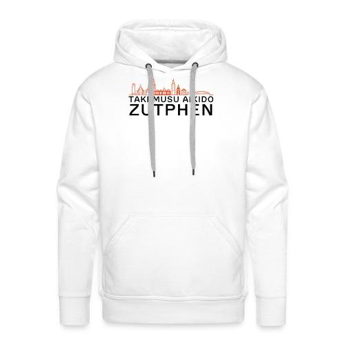 zutphen stadsgezicht oranje - Mannen Premium hoodie