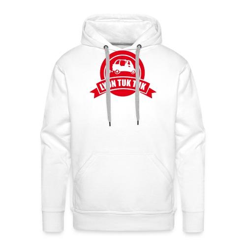lyon tuk tuk png - Sweat-shirt à capuche Premium pour hommes