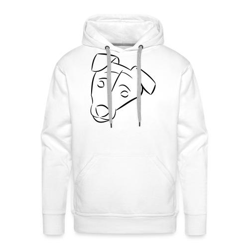 Chien - Sweat-shirt à capuche Premium pour hommes