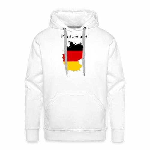 Deutschland Karte - Männer Premium Hoodie
