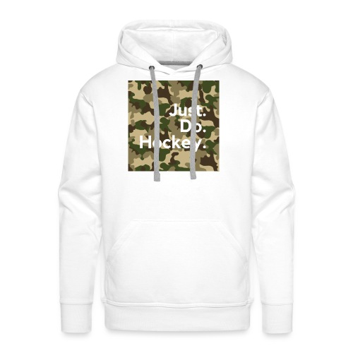 Just.Do.Hockey 2.0 - Mannen Premium hoodie