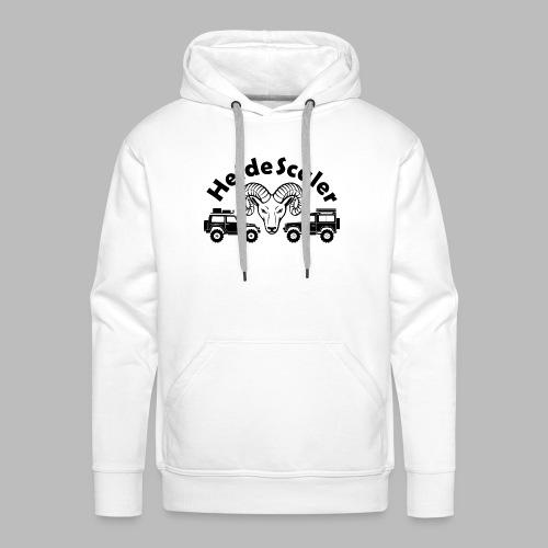 Heide Scaler black HQ - Männer Premium Hoodie