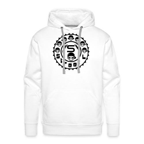 rawstyles rap hip hop logo money design by mrv - Bluza męska Premium z kapturem