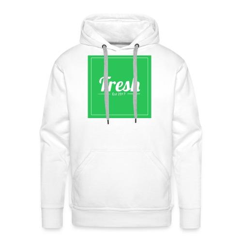Green square - Men's Premium Hoodie