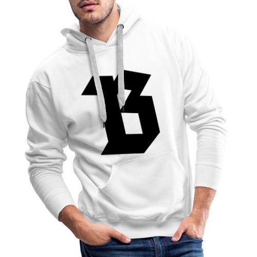 (B) Belgium - Sweat-shirt à capuche Premium pour hommes