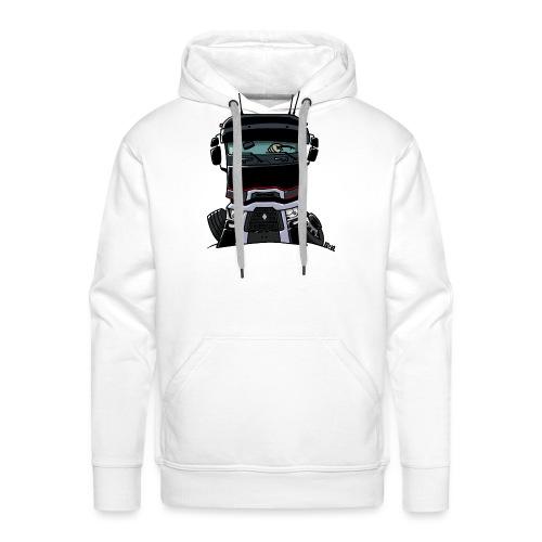 0813 R truck zwart - Mannen Premium hoodie
