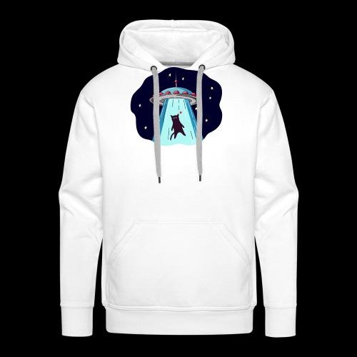 Chat Ovni - Sweat-shirt à capuche Premium pour hommes