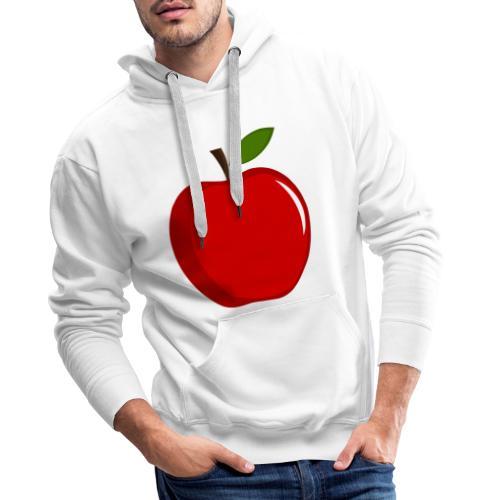 Apfel - Männer Premium Hoodie
