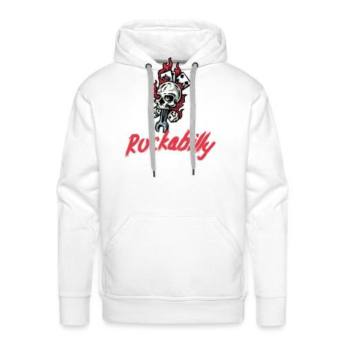 rockabilly - Sweat-shirt à capuche Premium pour hommes