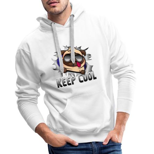 Keep Cool Hund Geschenk - Männer Premium Hoodie