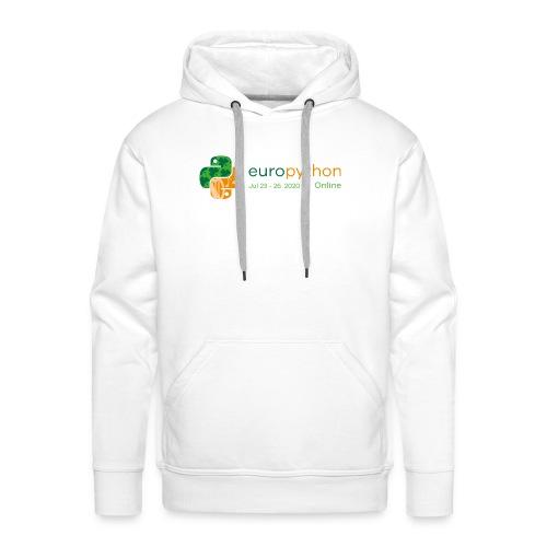 EuroPython 2020 - Color Logo - Men's Premium Hoodie