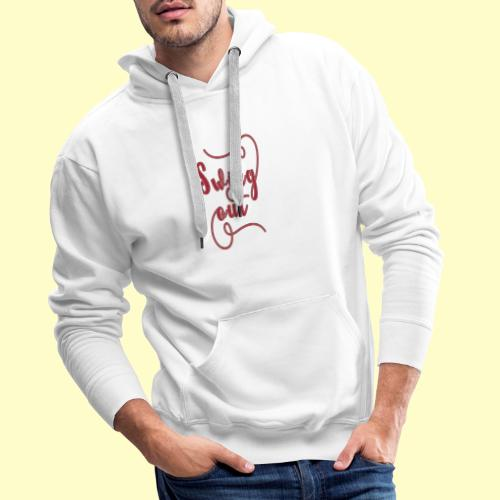 Swing Out Lindy Hop Vintage - Swing Retro - Männer Premium Hoodie