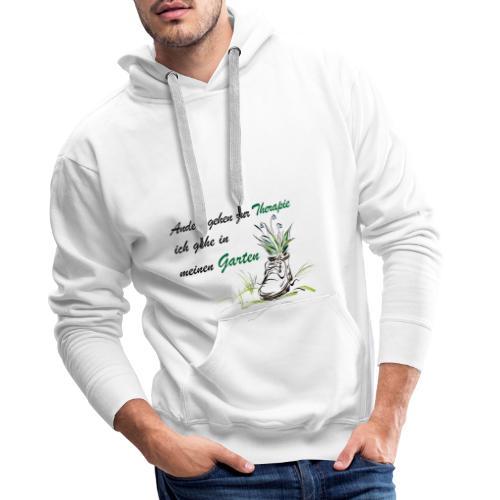 Therapie garten shirt - Männer Premium Hoodie