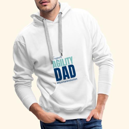 Super Agility Dad - Miesten premium-huppari