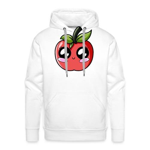 Pomme Kawaii - Sweat-shirt à capuche Premium pour hommes