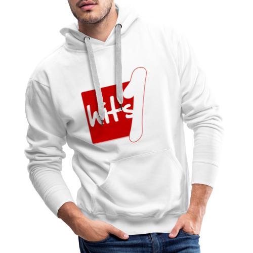 Hits 1 radio - Sweat-shirt à capuche Premium pour hommes