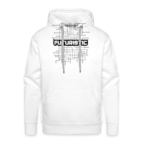Futuristic - Mannen Premium hoodie