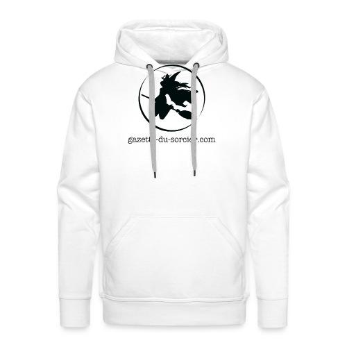 T-shirt logo Gazette - Sweat-shirt à capuche Premium pour hommes
