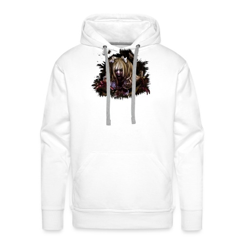 Zombie Mia - Männer Premium Hoodie