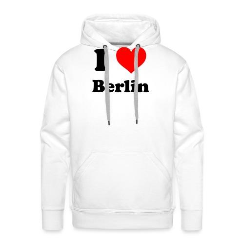 love berlin - Männer Premium Hoodie