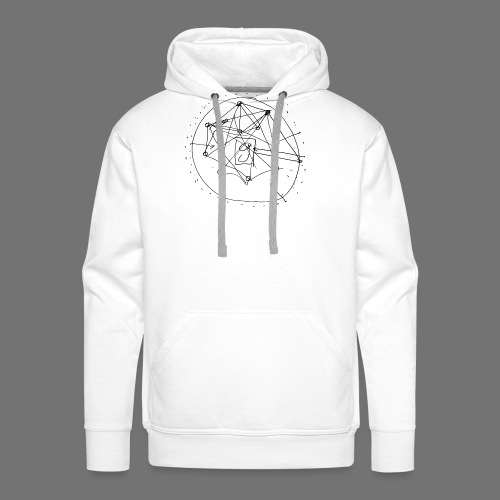 Strategia SEO nr 1 (czarny) - Bluza męska Premium z kapturem