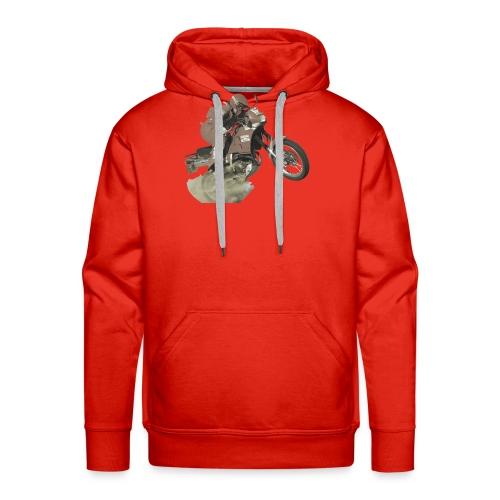 marlboro nx250 less saturation - Mannen Premium hoodie