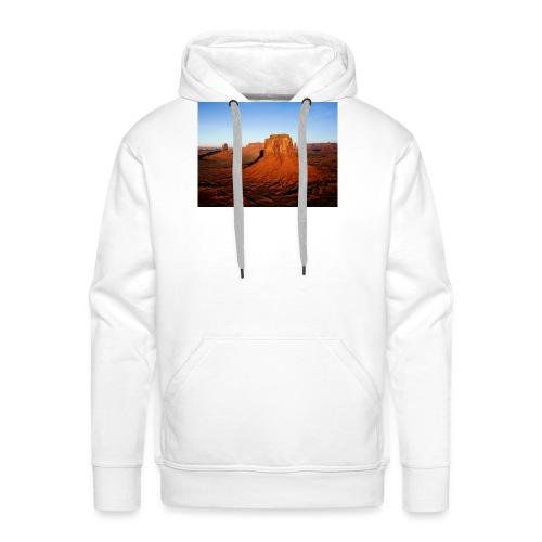 Desert - Sudadera con capucha premium para hombre