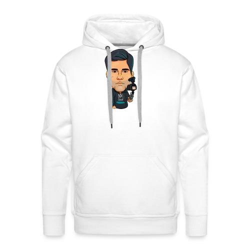 Logo By Alban - Sweat-shirt à capuche Premium pour hommes