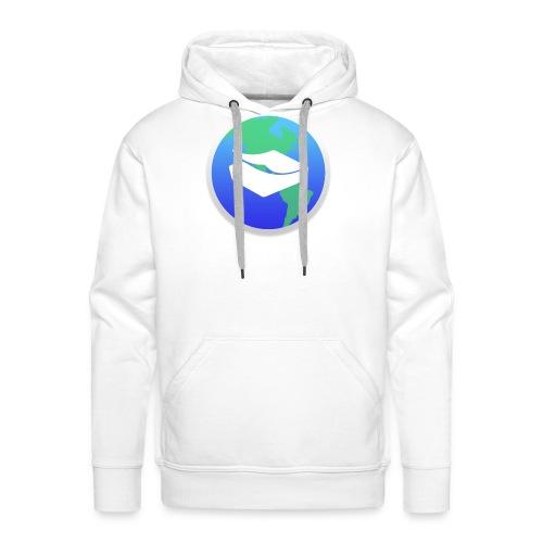 kaeru world icon - Men's Premium Hoodie