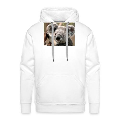 Koala - Sudadera con capucha premium para hombre