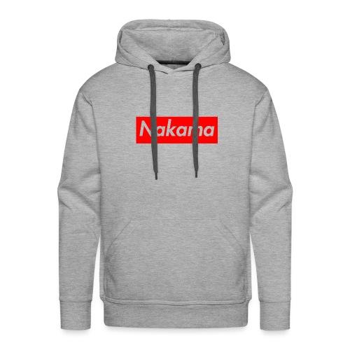 Nakama - Sweat-shirt à capuche Premium pour hommes