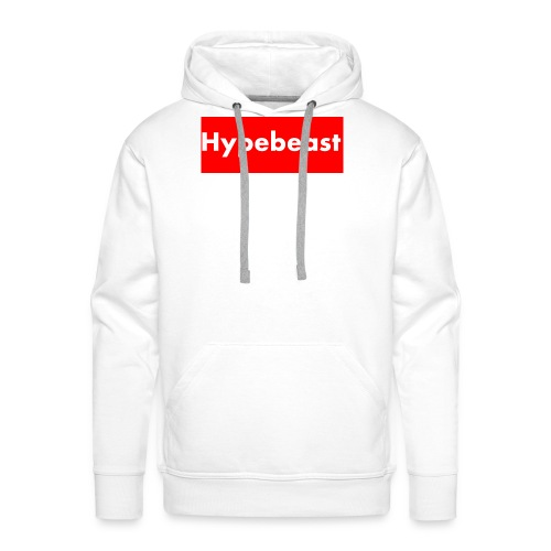 Hypebeast, parody - Men's Premium Hoodie