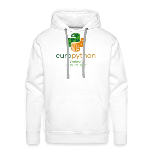 EuroPython 2020 - Vertical Color Logo - Men's Premium Hoodie