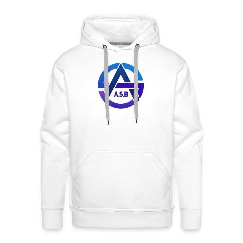 A.S.B - Felpa con cappuccio premium da uomo