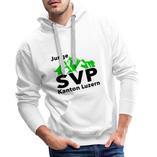 Junge SVP Kanton Luzern - Männer Premium Hoodie